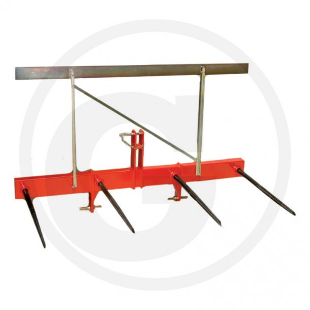 Balletransport redskab, 4 spyd forstærket, 3-punktsophæng